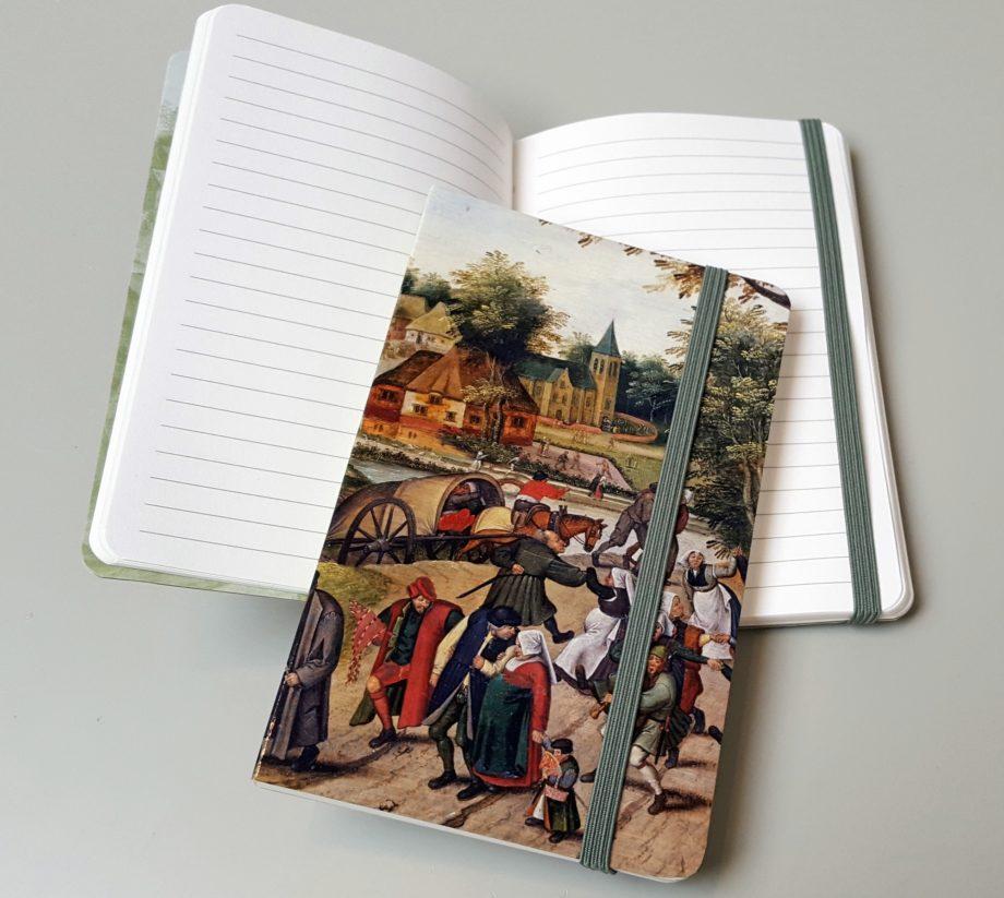 Brueghel notesbog med elastik