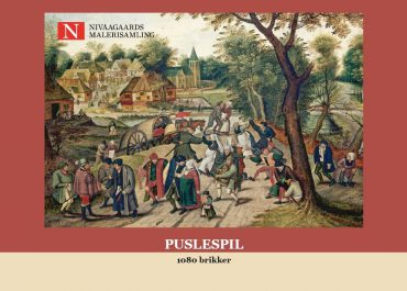 Puzzle with 1080 pieces (Pieter Brueghel d.Y.)