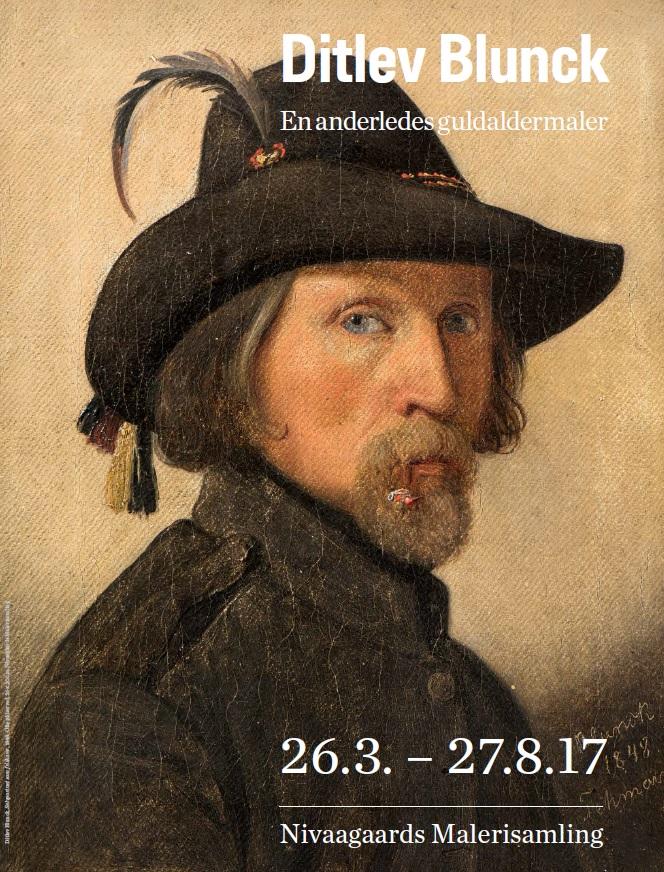 Blunck plakat, selvportræt som friskarer