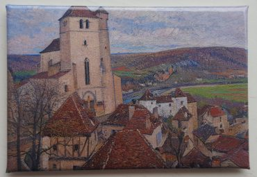Magnet: Saint-Cirq Lapopie