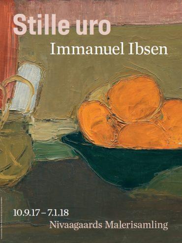 Stille Uro. Immanuel Ibsen plakat