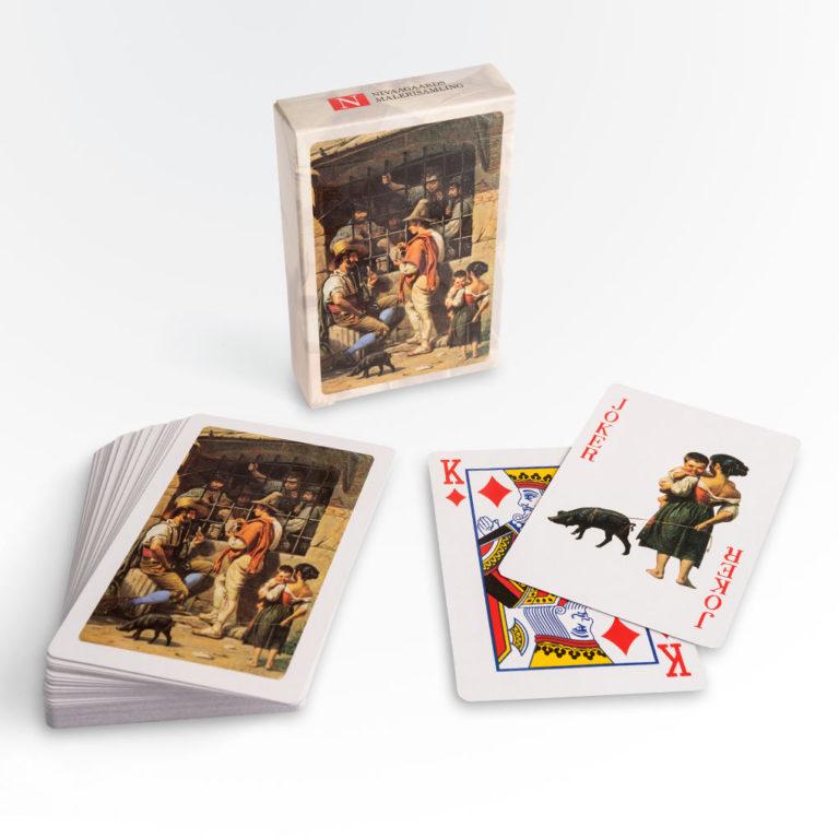 Spillekort_Nivaagaards Malerisamling