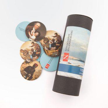 (Dansk) Vendespil: 2 x 25 brikker