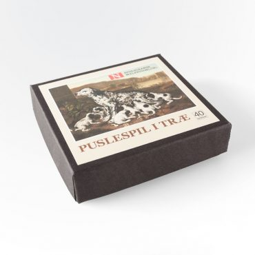 Træpuslespil med 40 brikker (Pieter van der Hulst)