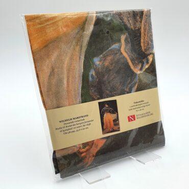 Viskestykke i økologisk bomuld: Wilhelm Marstrand