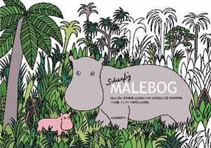 (Dansk) Malebog med Scherfig-motiver