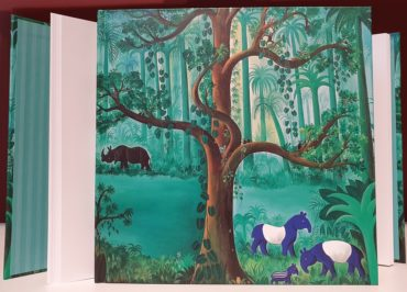 Hans Scherfig Skitse- og notesbog 'Det store træ'