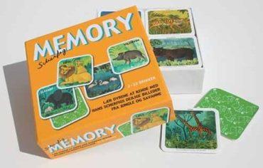 Scherfig Memory (vendespil)