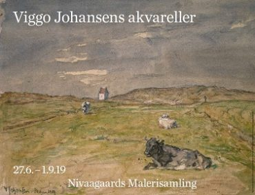(Dansk) Viggo Johansens akvareller Plakat