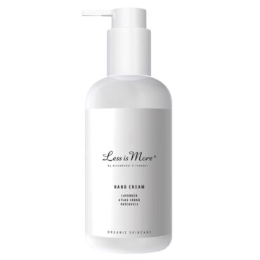 Less is more økologisk håndcreme 250 ml.