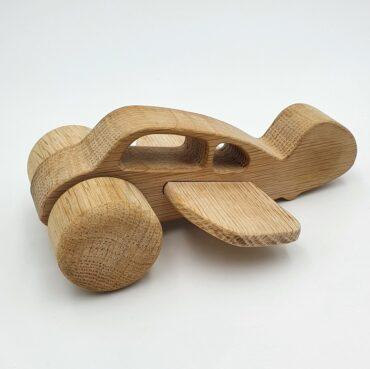 (Dansk) NOHA Træfigur Flyvemaskine