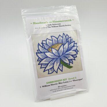 Broderikit: William Morris, Blue Lotus